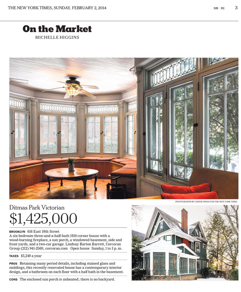 The New York Times Real Estate On The Market