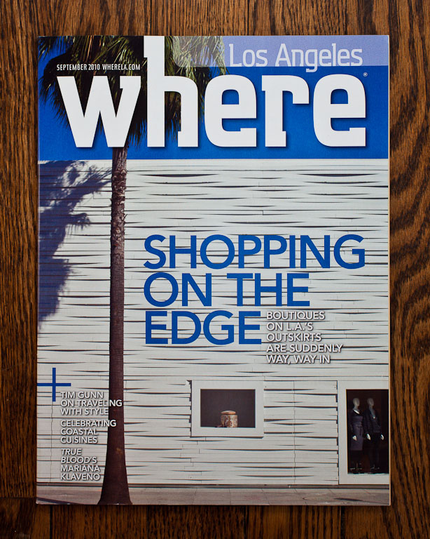 Where Los Angeles Shopping On The Edge